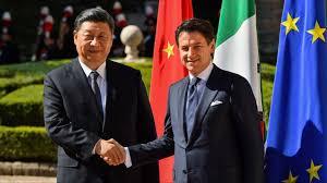 Visita del Presidente Chino a Italia