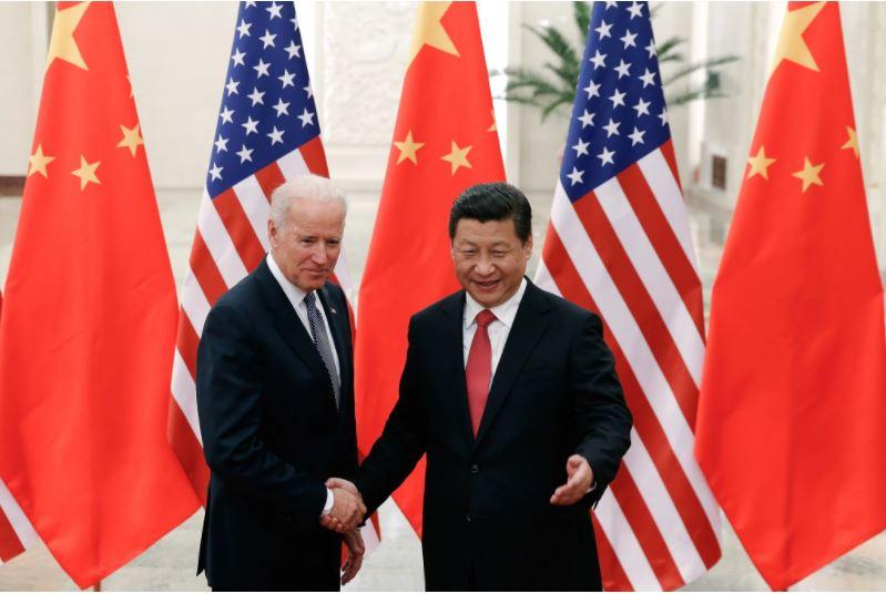 Biden y Ji Xinping